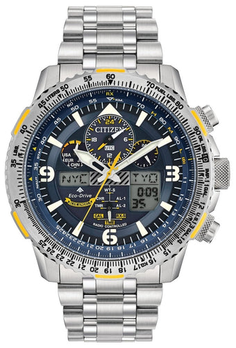 CITIZEN Promaster Skyhawk A-T Super Titanium Atomic Timekeeping Watch - Stainless Steel - Gemorie