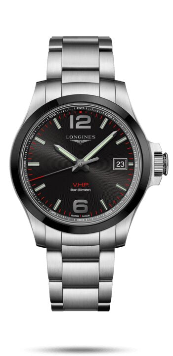 LONGINES Conquest Swiss-Made Watch - Stainless Steel - Gemorie