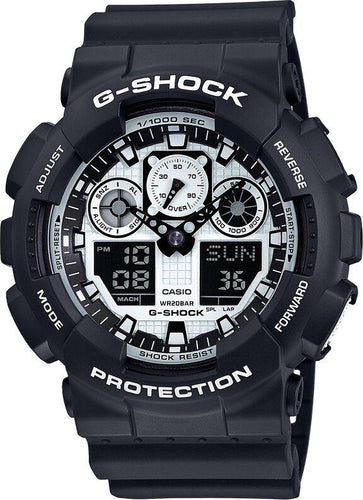 G-SHOCK G-SHOCK 200M Water Resistant Men's Watch - Black - Gemorie