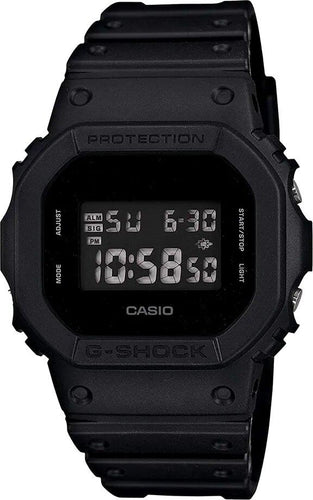 G-SHOCK G-SHOCK Back Lit Display Flash Alert Men's Watch - Black - Gemorie