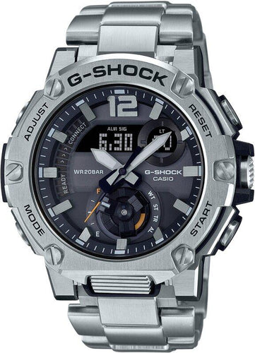 G-SHOCK G-SHOCK Carbon Core Guard Structure LED Backlight Men's Watch - Stainless Steel - Gemorie