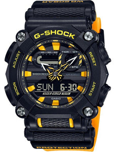 G-SHOCK G-SHOCK Combination Timingkeeping Resin Band Watch - Yellow and Black - Gemorie
