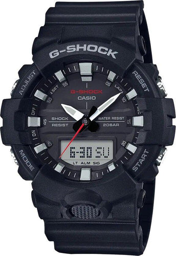G-SHOCK G-SHOCK Dual Time Men's Analog Digital Watch - Black - Gemorie