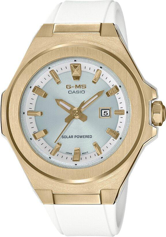 G-SHOCK G-SHOCK G-MS Lightweight Easy to Match Resin Band Watch - White & Gold - Gemorie