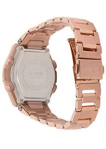 G-SHOCK G-SHOCK G-MS Solar Powered LED Afterglow Women's Watch - Rose Gold - Gemorie