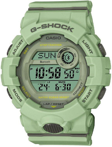 G-SHOCK G-SHOCK G-SQUAD Lineup Power Saving Step Count Graph Women's Watch - Green - Gemorie