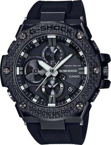 G-SHOCK G-SHOCK G-STEEL Power Saving Layer Guard Structure Men's Watch - Black - Gemorie