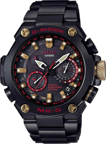 G-SHOCK G-SHOCK GPS Hybrid Wave Ceptor Titanium Band Men's Watch - Multicolor - Gemorie