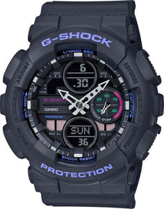 G-SHOCK G-SHOCK Mineral Glass GMAS140-8A Women's Watch - Black - Gemorie