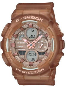 G-SHOCK G-SHOCK Mineral Glass Semi-Transparent Resin Band Women's Watch - Clear - Gemorie