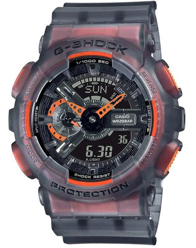 G-SHOCK G-SHOCK Resin Band Men's Analog Digital Watch - Grey - Gemorie
