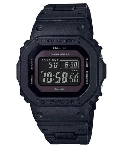 G-SHOCK G-SHOCK Solar-Powered Men's Digital Watch - Black - Gemorie