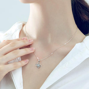 "GEMODA GEMODA ""Delilah"" 1 Carat Moissanite Necklace in 925 Sterling Silver - Gemorie"
