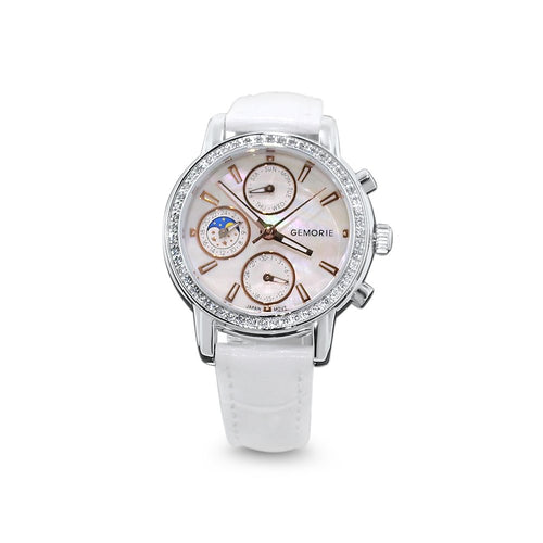 Gemorie Gemorie ''125700'' - Jewelry Watch with Zirconia in Silver Plating (125700) - Gemorie