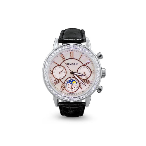 Gemorie Gemorie ''125800'' - Jewelry Watch with Zirconia in Silver Plating (125800) - Gemorie