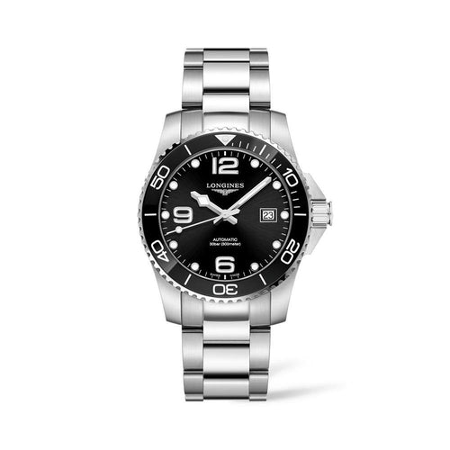 LONGINES HYDROCONQUEST CERAMIC 41MM AUTOMATIC DIVING WATCH - Gemorie