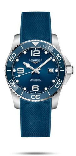 LONGINES LONGINES HydroConquest 41mm Sporty Sapphire Crystal Men's Watch - Blue - Gemorie