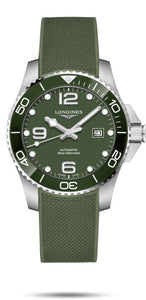 LONGINES LONGINES HydroConquest 43mm Sapphire Crystal Men's Watch - Green - Gemorie