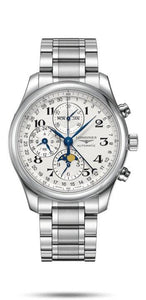 LONGINES LONGINES Master Collection 42mm Column-Wheel Chronograph Men's Watch - Stainless Steel - Gemorie