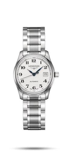 LONGINES LONGINES Master Collection Automatic Movement Women's Watch - Stainless Steel - Gemorie