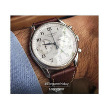 Load image into Gallery viewer, LONGINES LONGINES Master Collection Scratch-Resistant Sapphire Crystal Men's Watch - Brown - Gemorie