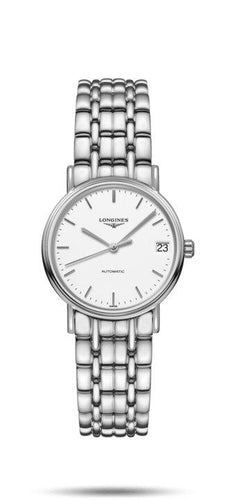 LONGINES LONGINES Présence Collection 30mm Self-Winding Women's Watch - Stainless Steel - Gemorie