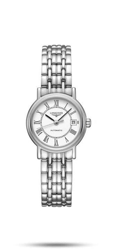 LONGINES LONGINES Présence Collection Water-Resistant 25mm Women's Watch - Stainless Steel - Gemorie