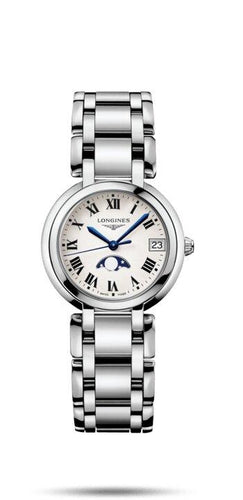 LONGINES LONGINES Primaluna Water-Resistant Women's Watch - Stainless Steel - Gemorie
