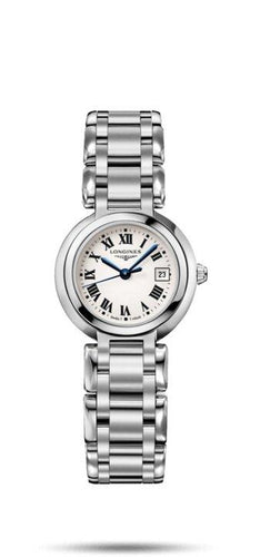 LONGINES LONGINES Primaluna Women's Quartz Movement Watch - Stainless Steel - Gemorie