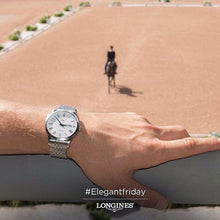 Load image into Gallery viewer, LONGINES LONGINES Record Collection 40mm Water-Resistant Men's Watch - Stainless Steel - Gemorie