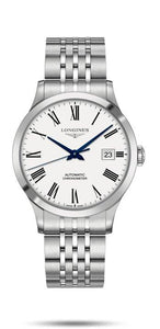 LONGINES LONGINES Record Collection 40mm Water-Resistant Men's Watch - Stainless Steel - Gemorie