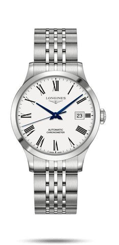 LONGINES LONGINES Record Collection COSC Chronometer Certified Watch - Stainless Steel - Gemorie