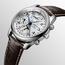 Load image into Gallery viewer, LONGINES THE LONGINES MASTER COLLECTION 40MM CHRONOGRAPH WITH MOON PHASE - Gemorie