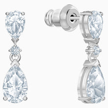 Load image into Gallery viewer, SWAROVSKI Nice Set - White & Rhodium Plated