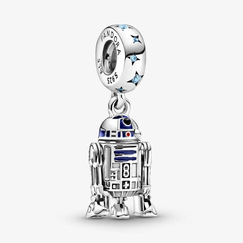 Pandora PANDORA Star Wars R2-D2 Dangle Charm - Gemorie