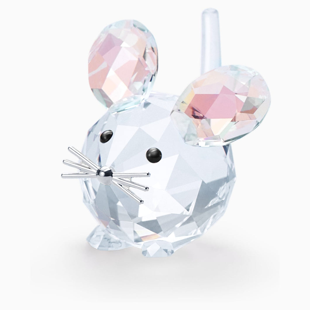 SWAROVSKI Replica Mouse Figurine Home Decor - Multicolor
