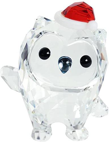 Swarovski SWAROVSKI Hoot Holidays Owl Home Decor - Clear - Gemorie