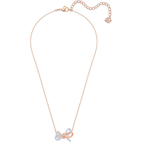 Swarovski SWAROVSKI LIFELONG BOW PENDANT, WHITE, MIXED PLATING - Gemorie