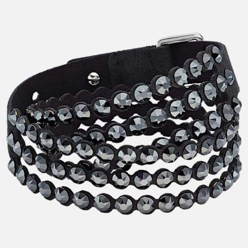 Swarovski SWAROVSKI POWER COLLECTION BRACELET, BLACK - Gemorie