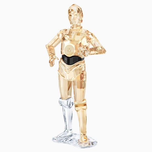Swarovski SWAROVSKI Star Wars C-3PO Home Decor - Multicolor - Gemorie