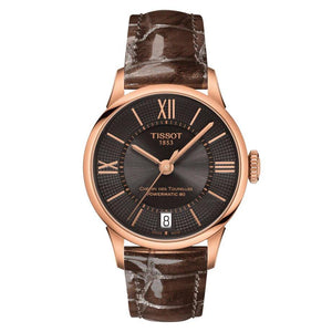 Tissot TISSOT Chemin Des Tourelles Powermatic 80 Lady - Brown - Gemorie