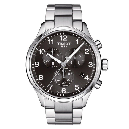 Tissot TISSOT Chrono XL Classic Multifunctional Swiss Technology Men's Watch - Stainless Steel - Gemorie