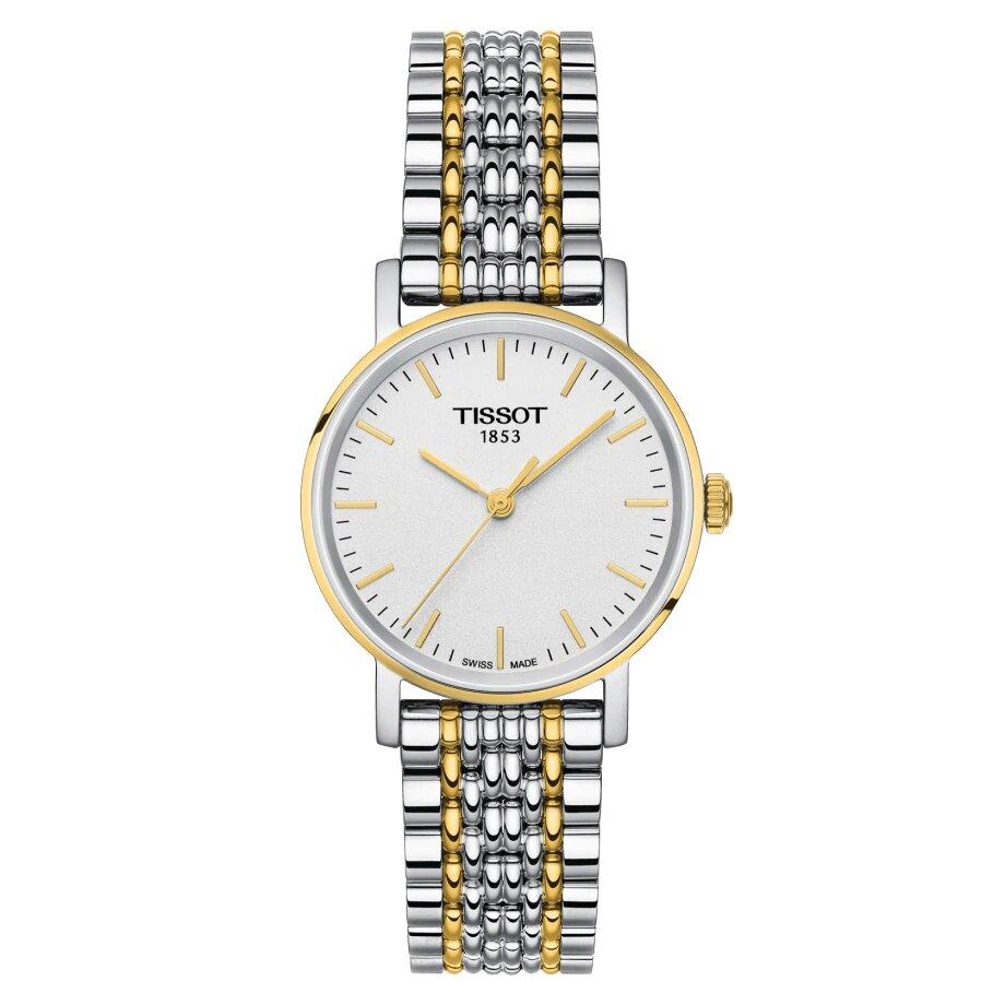 Tissot TISSOT Everytime Small Women's Watch - Stainless Steel & Yellow Gold - Gemorie