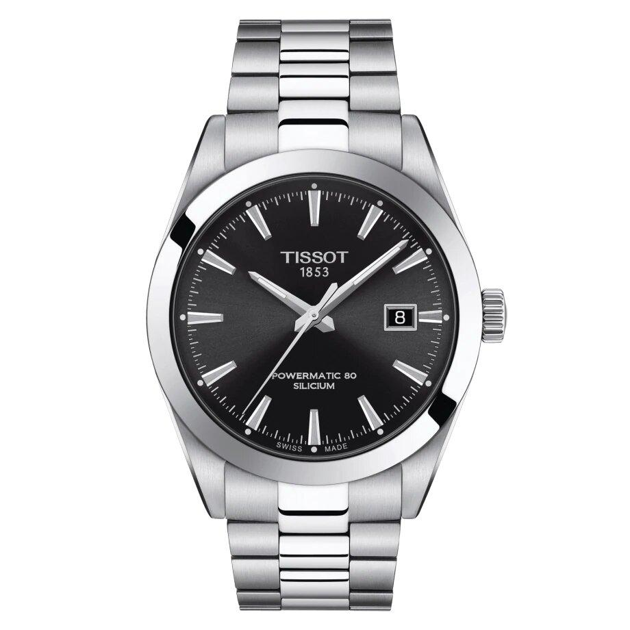 Tissot TISSOT Gentleman Powermatic 80 Silicium Automatic Energy Watch - Stainless Steel - Gemorie