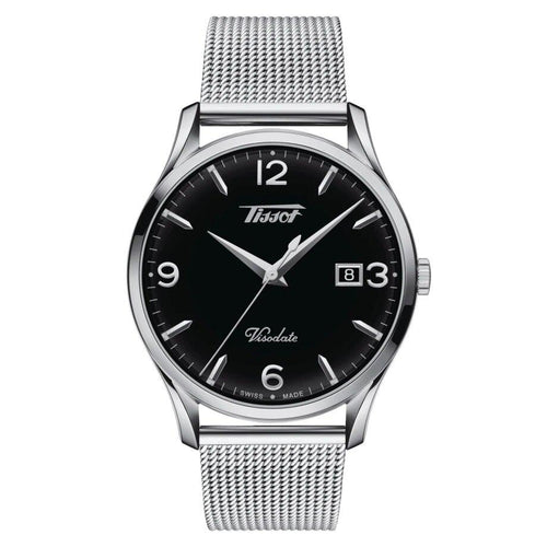 Tissot TISSOT Heritage Visodate Quartz EOL Energy Men's Watch - Stainless Steel - Gemorie