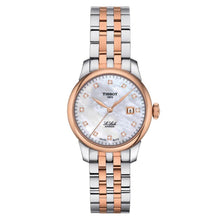 Load image into Gallery viewer, Tissot TISSOT Le Locle Automatic Lady 29.00 - Stainless Steel & Rose Gold - Gemorie