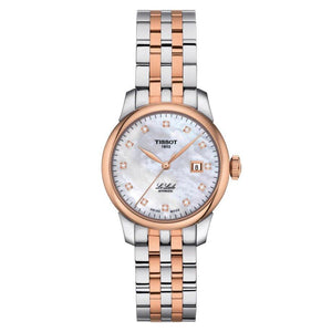 Tissot TISSOT Le Locle Automatic Lady 29.00 - Stainless Steel & Rose Gold - Gemorie