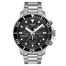Load image into Gallery viewer, Tissot TISSOT Seastar 1000 Chronograph Men's Watch - Stainless Steel - Gemorie