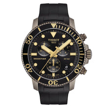 Load image into Gallery viewer, Tissot TISSOT Seastar 1000 Chronograph T-Sport Collection Screw Down Crown Watch - Black - Gemorie
