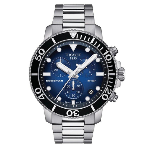 Tissot TISSOT Seaster 1000 Men's Water-Resistant Diving Watch - Stainless Steel - Gemorie